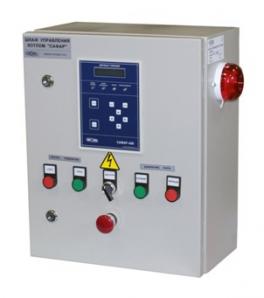 Купить САФАР-400-ПАР шкаф автоматики водогрейных котлов и тепловых установок НПП «ПРОМА»
