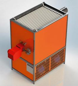 Купить Тепловей воздухонагреватели рекуперативные