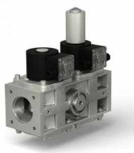 Купить Клапаны электромагнитные двойные двухпозиционные с медленным открытием (СП «ТермоБрест»)
