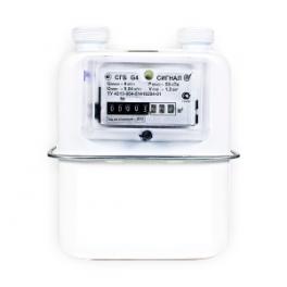 Купить СГБ G2.5; G4 счетчики газа бытовые ЭПО Сигнал