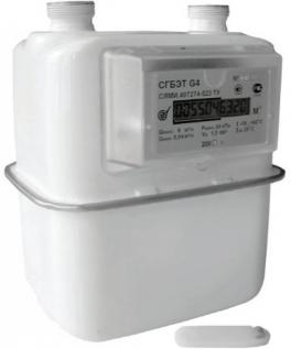 Купить СГБЭТ G2,5; G4 счетчики газа бытовые  ЭПО Сигнал