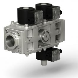Купить Клапаны электромагнитные двойные трехпозиционные (СП «ТермоБрест»)