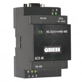 Купить АС3-М автоматический преобразователь интерфейсов RS-232/RS-485