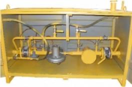Купить ГРПН-300-01 с регуляторами РДУ-32/С1 (РДУ-32/С2, РДУ-32/С3) с газовым обогревом