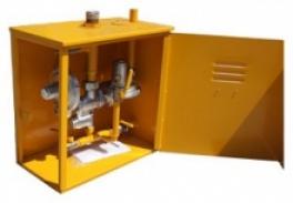 Купить ГРПШ-1-2Н с регуляторами РДГД-20М (РДГД-20М1, РДГД-20М2, РДГД-20М3) с газовым обогревом
