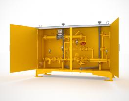 Купить ГРПУ газорегуляторные пункты с узлом учета расхода газа
