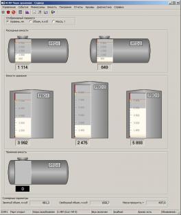 Купить АСКУ Парк хранения автоматизированная система контроля уровня