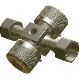 Купить АМАКС-КМ 1.00 клапан трехходовой стальной для манометра