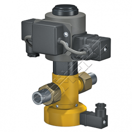 Купить АМАКС-КЭ клапан электромагнитный стальной DN 15 мм, PN 1,6МПа типа «НЗ»