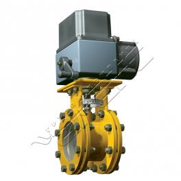 Купить АМАКС-ЗДЭ заслонка дроссельная с электроприводом DN 150…600мм, PN 1,6МПа, ΔP 0,2МПа
