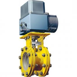 Купить АМАКС заслонка дроссельная с электроприводом для ГРП DN 50…400 мм, PN 1,6МПа, ΔР 1,1МПа