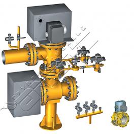 Купить АМАКС-БГ3 блок газооборудования котла DN 100…150 мм, Pp 0,25МПа