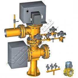 Купить АМАКС-БГ8 блок газооборудования котла DN 100…250 мм, Pp 0,25МПа