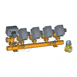 Купить АМАКС-БГ10 блок газооборудования котла DN 200/100…150мм, Pp 0,25МПа