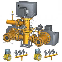 Купить АМАКС-БГ11, АМАКС-БГ14 блок газооборудования котла DN 200/100…150 мм, Pp 0,25МПа