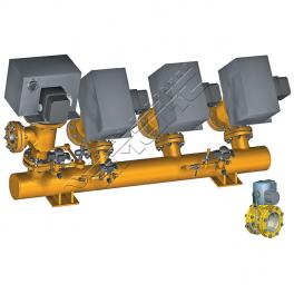 Купить АМАКС-БГ15 блок газооборудования котла DN 150…200/100…150 мм, Pp 0,25МПа
