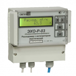 Купить ЭХО-Р-03 ультразвуковой расходомер сточных вод