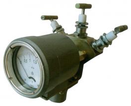 Купить ДСП-80-РАСКО дифманометр стрелочный показывающий (дифференциальный манометр)